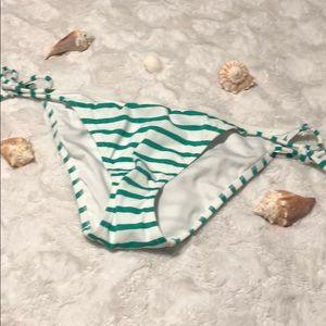 Victoria's Secret bikini bottom stripe NWOT
